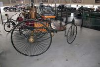 Trimoba AG / Oldtimer und Immobilien,Benz Patent 1886; 954ccm, 0.75PS bei 400U/min