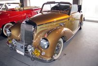 Trimoba AG / Oldtimer und Immobilien,Mercedes 220 A Cabrio, Bj.51-55; R-6, 80PS, 2.2l